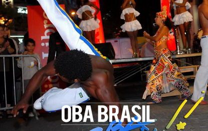 capoeira accrobatique