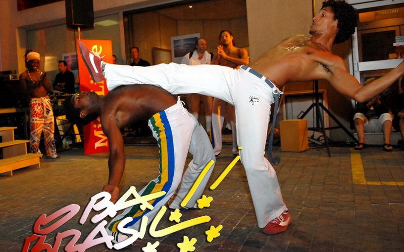 demonstration capoeira
